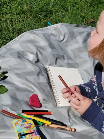 Our Nature-Based Preschool Homeschool Schedule and Daily Rhythm