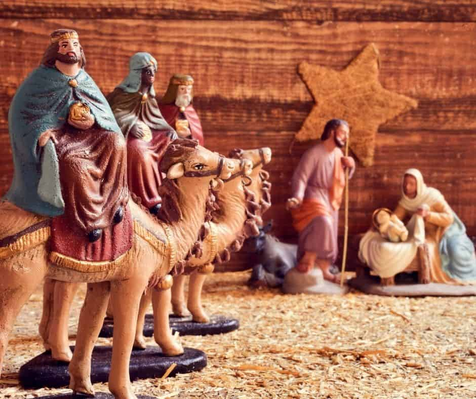 Children's Prayers and Rhymes for Epiphany, also known as Three Kings Day, or Little Christmas.
