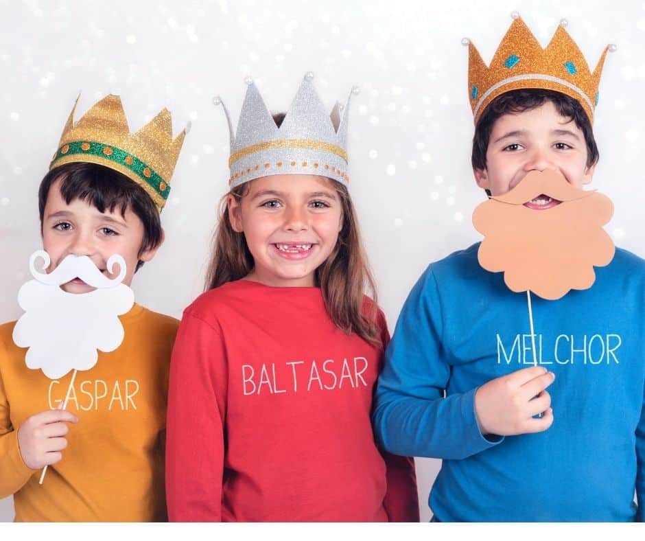 Ideas for celebrating Epiphany with your kids in your Catholic home. Crafts, food, books, videos, and games.