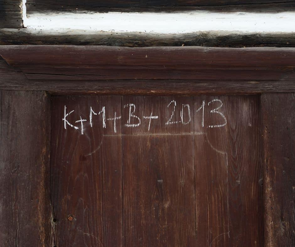 Epiphany House Blessing- Chalk, Prayer, Holy Water